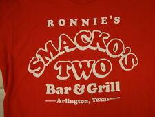 Vintage Ronnie's Smacko's Two Bar  & Grill Arlington Texas Cowboy T Shirt M