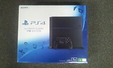 SONY PS4 Playstation 4 1TB (1000GB) Jet Black Console without games (NEW)