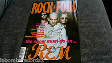 ZZ- REVISTA MAGAZINE ROCK & FOLK Nº375 - REM - PLACEBO - COSTELLO - IAN DURY ASH