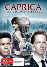 Caprica - The Complete Series (DVD, 2011, 6-Disc Set)*R4*Excellent Condition*