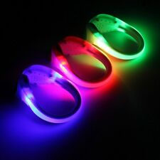 LED Sports Luminous Shoe Clip Light Night Safety Warning Bike Cycling Running Sp