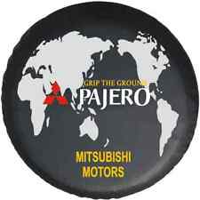 "For Mitsubishi Pajero world map Spare Wheel Tire Cover Fit NEW Size 30-31"" R16"