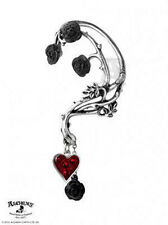Bed of Blood Roses Single Ear Wrap Earring by Alchemy Gothic