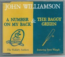 "John Williamson    ""A Number On My Back / The Baggy Green""   Rare CD Single"