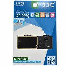 JJC LCD Screen Protector Guard Film for Sigma DP1, DP2, DP3,DP0 Quattro