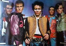 RARE ADAM ANT 1982 VINTAGE ORIGINAL MUSIC POSTER