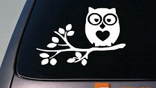 Owl sticker decal car window vinyl College Girl Decorate Kid *D735*