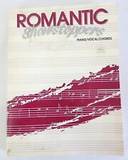 Romantic Showstoppers Piano Vocal Chords Music Song Book 1989 CPP Belwin Paperbk