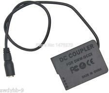 DMW-DCC8 DC Coupler BLC12E dummy battery for Panasonic Lumix DMC-GH2 GH2H GX8