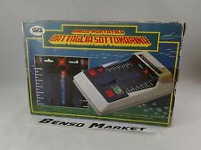 GIG GIOCO PORTATILE BATTAGLIA SOTTOMARINA GAME & WATCH CONSOLE HANDHELD VINTAGE