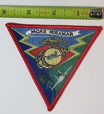 MCAS Miramar Fighter Town Marine Corps Air Station Military Aviation USMC Patch