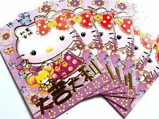 36X 2017 Hello Kitty Chinese New Year AngPow AngPau Money Envelope Red Packet -B