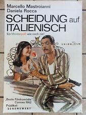 Kinoplakat SCHEIDUNG AUF ITALIENISCH Litter Daniela Rocca Mastroianni