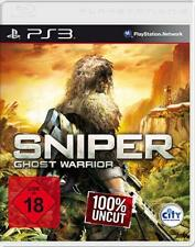 PlayStation 3 Sniper Ghost Warrior * Deutsch utilizada
