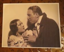 Lupita Tovar signed autographed photo famous for 1931 Dracula Spanish language
