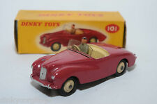 P DINKY TOYS 101 SUNBEAM ALPINE SPORTS CAR CERISE VN MINT BOXED RARE SELTEN