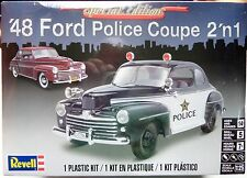 Revell Special Edition 1948 Ford Police Coupe 2 'n 1, 1/25, New (2016) FS Box