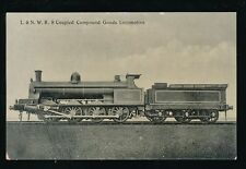 Railway L&NWR Goods Locomotive #1881 Official unposted PPC