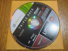 Triple Pack : Trials HD, Limbo, Splosion Man ~~ Jeu XBOX 360 CD Seul
