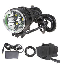 4000 Lumen 3xCREE XML T6 LED Bike Bicycle Light Headlamp +Battery Pack +Charger