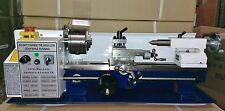 "Amadeal Mini Lathe - Brand New 7x14 Machine with DRO & 4"" Chuck - Metal Gears"