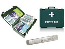 1 - 10 Person HSE Workplace Home First Aid Kit - FREE 20ml Saline Pod **OFFER**
