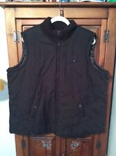 JONES NEW YORK SPORT WOMEN Zip Up Lined Brown VEST Size 2X