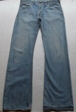 Evisu Ruma TLND Men's Blue 100% Cotton Jeans Size W 37 L 37