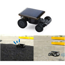 Mini Eco Solar Powered Tobot Racing Car Vehicle Educational Fun Gadget Kids Toy