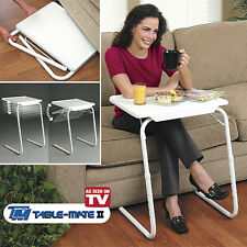 TABLE MATE 2 MESA BANDEJA PARA CAMA SOFA ORDENADOR PORTATIL PLEGABLE AUXILIAR TV