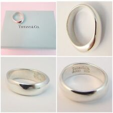 STUNNING VERY RARE SOLID SILVER TIFFANY & CO RING SIZE I