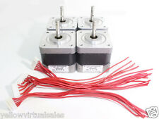 4 Nema 17 Japan Servo Stepper Motors Robot 3D Printer Arduino CNC Router 24V