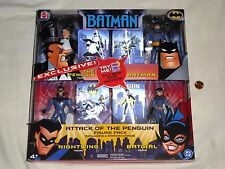 NEW Batman Attack of the Penguin Action Figure Pack w/ Nightwing Batgirl toys DC