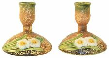 Roseville Pottery Jonquil Candle Holders 1082-4