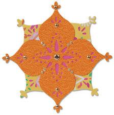 Sizzix sizzlits die flower arabesque 658385