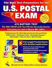 US Postal Exams (REA) - The Best Test Prep for Exams 460 & 470 w audio CDs (U.S.