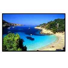 Outdoor Portable Movie Screen 120Inch 16:9 Home Cinema Projector Screen, PVC