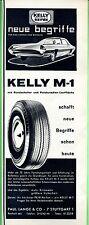 Kelly Springfield Reifen--Kelly M 1 --Werbung von 1965