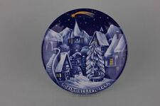 Porzellan Weihnachtsteller 1992  Seltmann Weiden