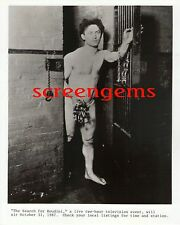 The Search for Houdini publicity photos lot of 2 original 8x10 magician TV docu