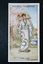 The Mikado   Gilbert and Sullivan  Yum-Yum  Vintage 1920's Card  VGC