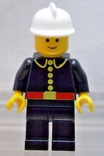 LEGO: MINIFIG: CITY Classic Fireman with White Fire Helmet