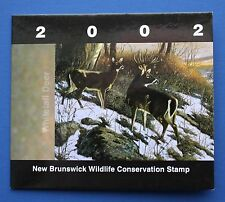 Canada (NB09) 2002 New Brunswick Conservation Fund Stamp (MNH)