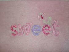Magic Years SWEET BUTTERFLY Pink Microplush BABY BLANKET Security Lovey