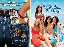 The Sisterhood Of Traveling Pants Complete Movie Film Part 1 AND 2 NEW UK DVD