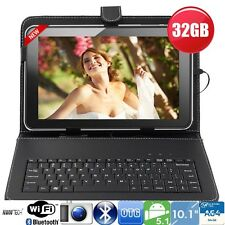 "32gb 10"" pollici a64 Quad Core Android Tablet PC + tastiera Bundle Google Play HDMI"