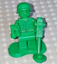 LEGO Toy Story Green Army men Minifigure lot w/ binoculars metal detector plate