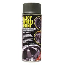 E-Tech Engineering 400ml Alloy Wheel Spray Paint In Gunmetal Grey