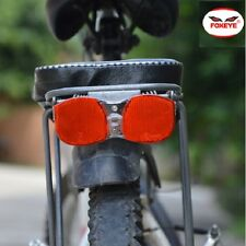 FOXEYE BIKE-CYCLE- BICYCLE REAR TAIL LIGHT LED FLASHING FOR LUGGAGE CARRIER RACK