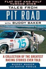 FLAT OUT AND HALF TURNED OVER - BUDDY BAKER (HARDCOVER) NEW